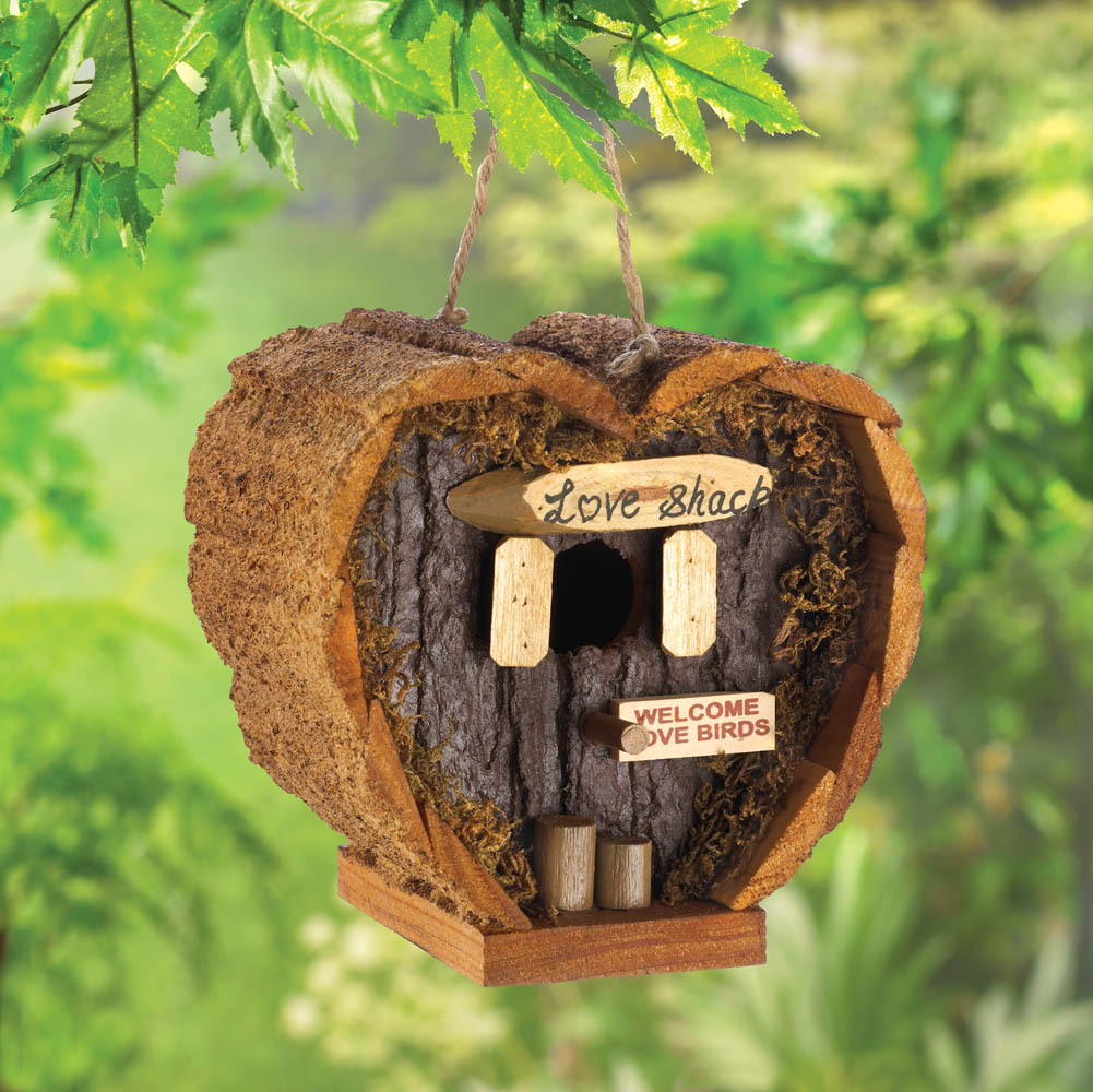 Wholesale Love Shack Birdhouse for sale at bulk cheap prices!