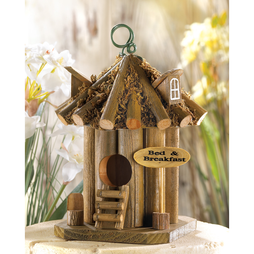 Wholesale Bed And Breakfast Birdhouse for sale at bulk cheap prices!