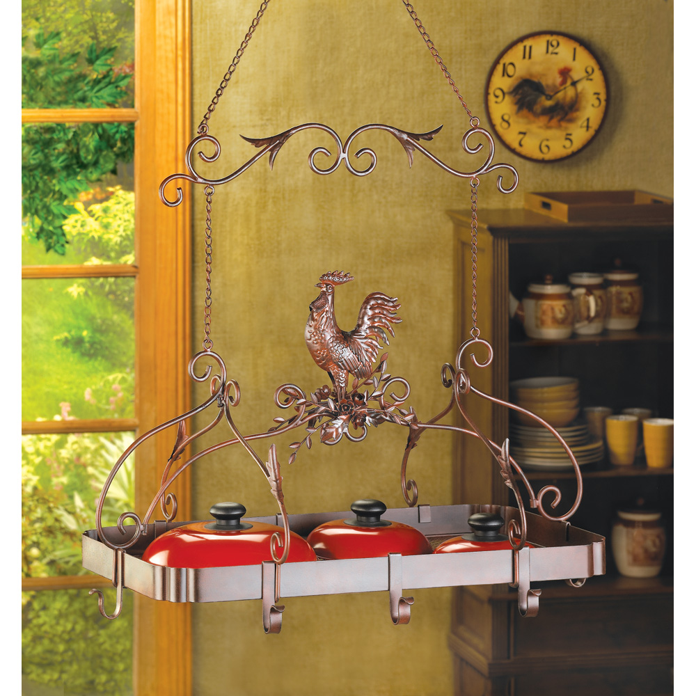 Wholesale Country Rooster Kitchen Rack Buy Wholesale