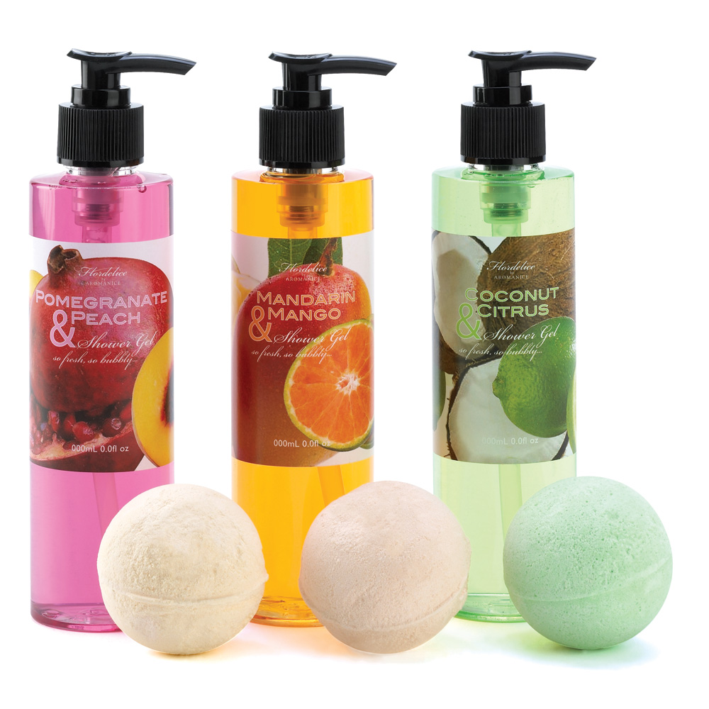 Tropical Delights Bath Set