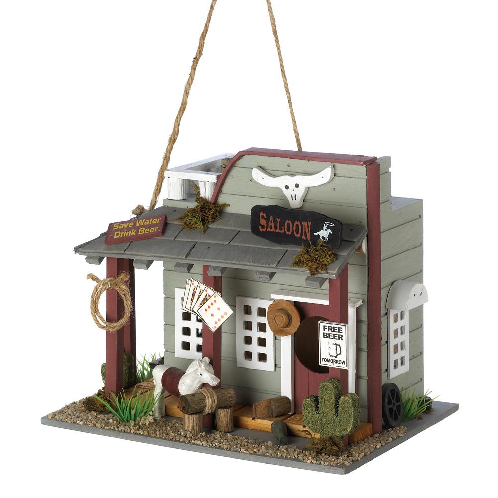 Wholesale Wild Horse Saloon Birdhouse for sale at bulk cheap prices!