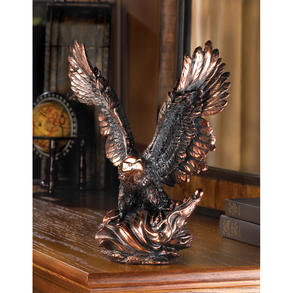 Wholesale Eagle In Flight Statue - Buy Wholesale Animal Figurines