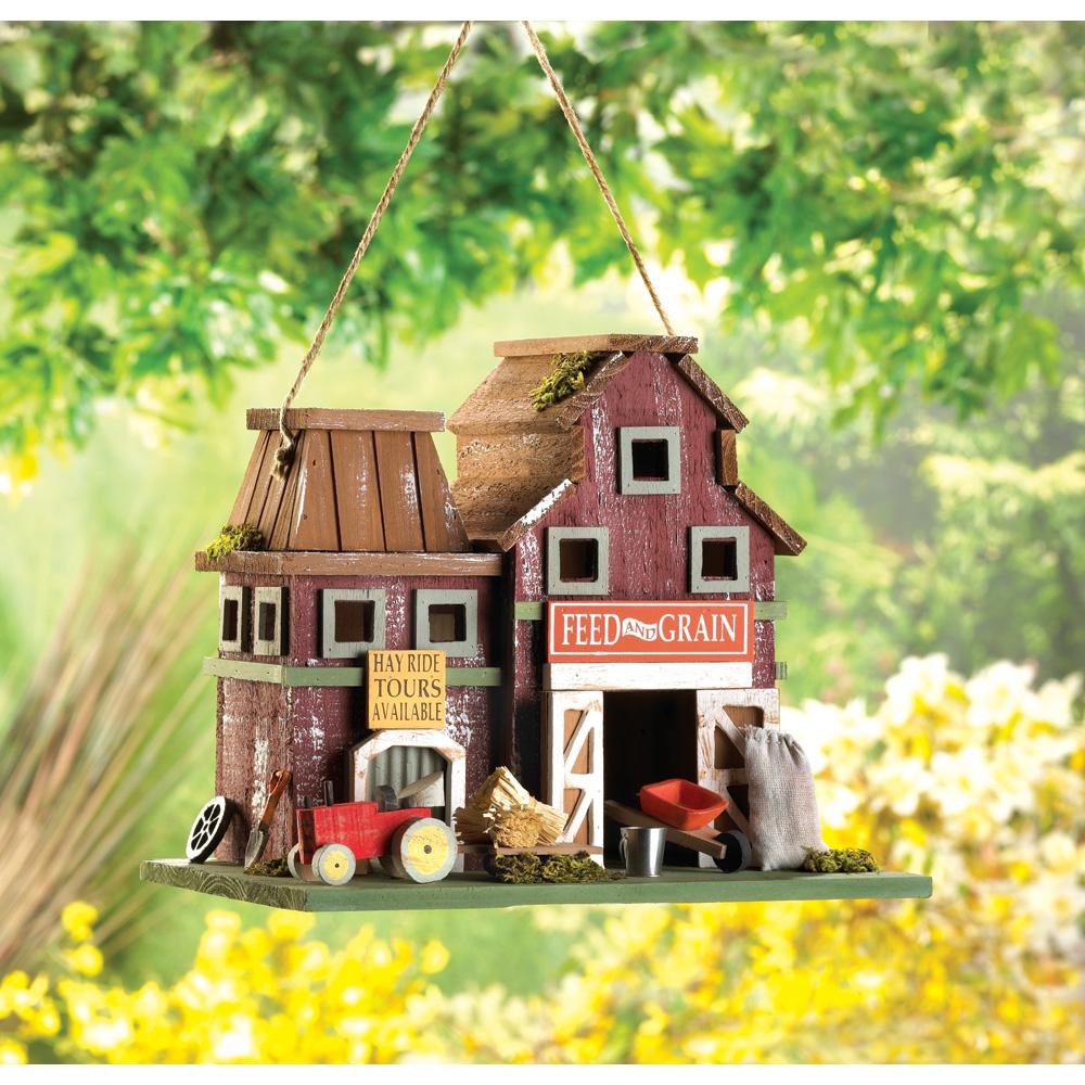 Wholesale Farmstead Birdhouse for sale at bulk cheap prices!
