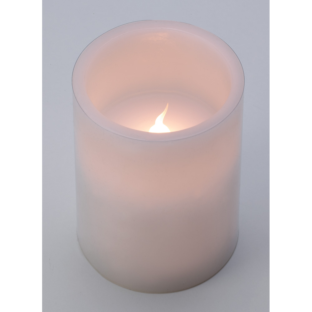 wholesale classic white flameless candle buy wholesale wedding. Black Bedroom Furniture Sets. Home Design Ideas