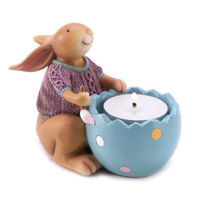 Snuggle Bunny Tealight Holder