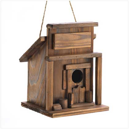 Wholesale Western Saloon Birdhouse for sale at  bulk cheap prices!