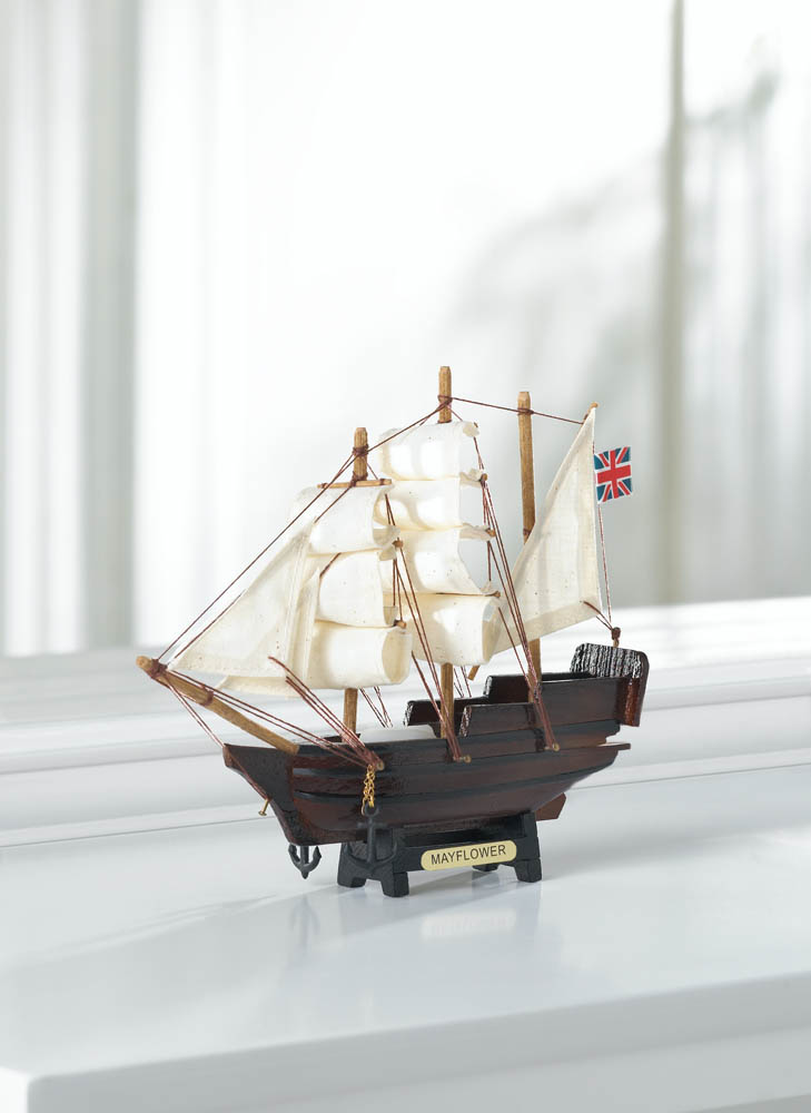 Wholesale Mini Mayflower Ship Model for sale at  bulk cheap prices!
