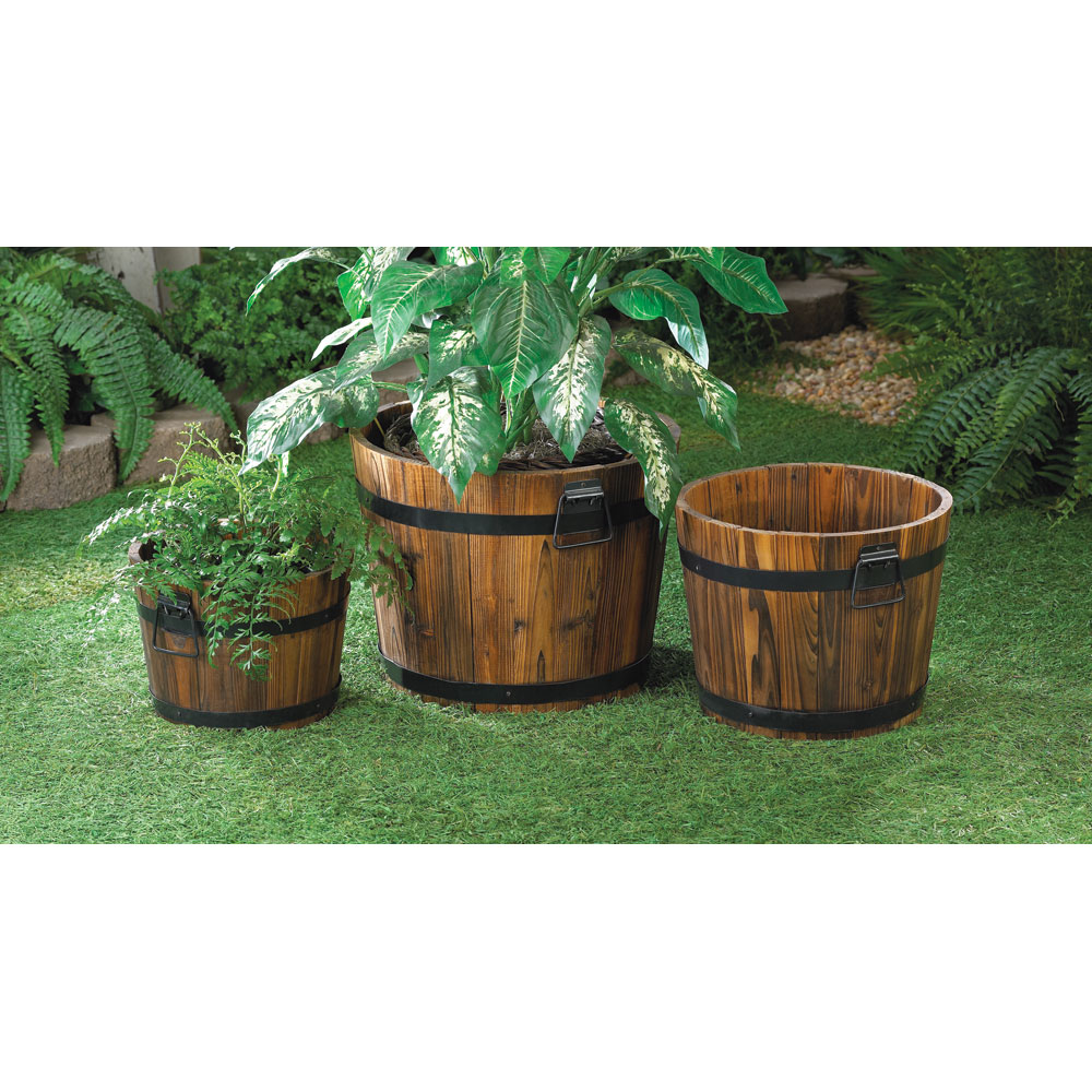 Wholesale Apple Barrel Planter Trio Buy Wholesale Garden Planters