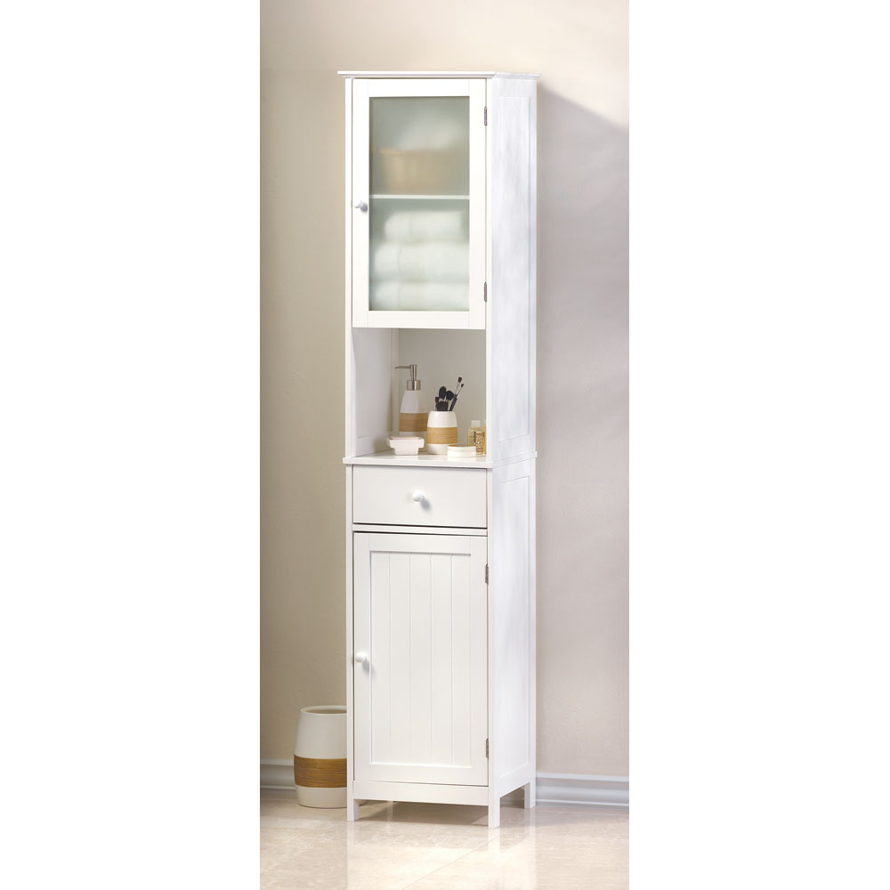 Wholesale lakeside tall storage cabinet buy wholesale for Cheap white cabinets sale