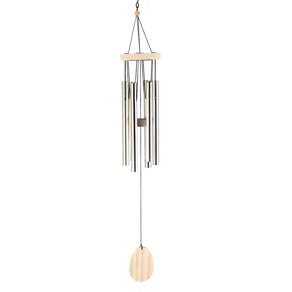 Wholesale Classic Bleach Wood Windchime for sale at  bulk cheap prices!