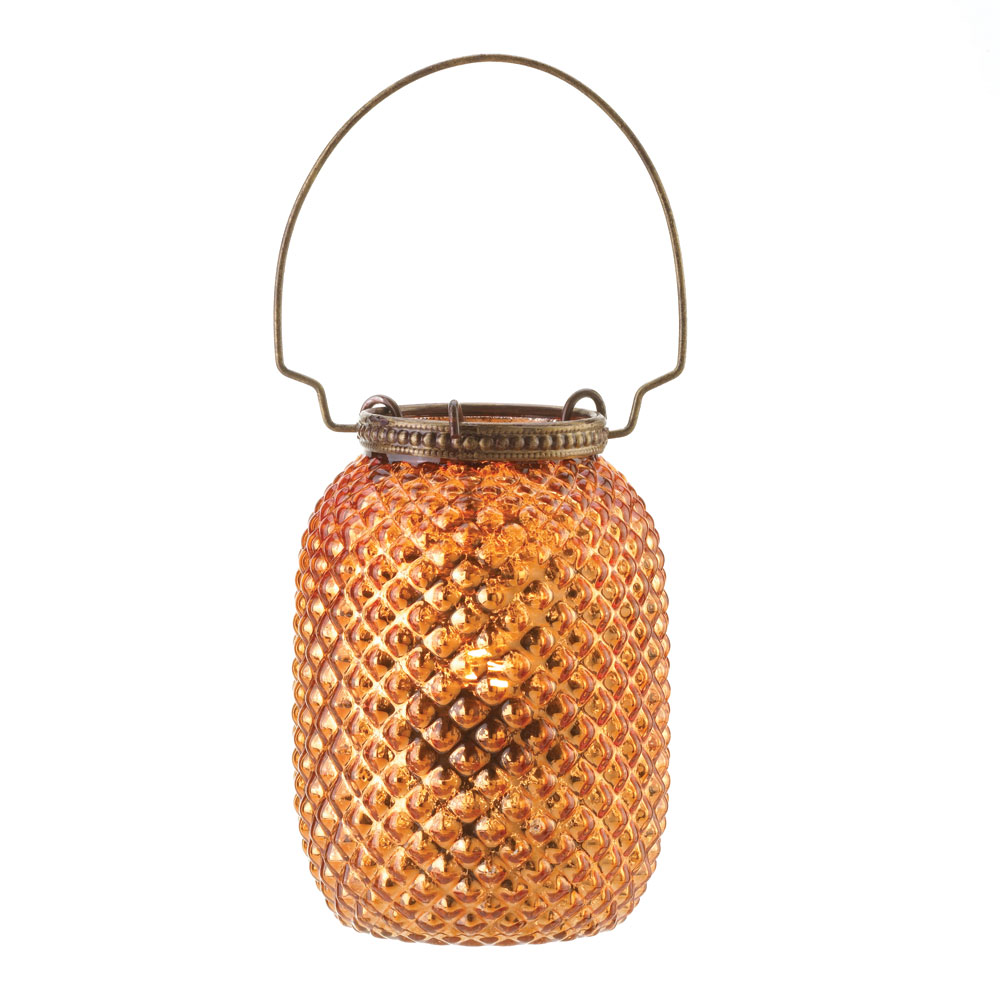 Wholesale Amber Diamond Candle Lantern for sale at  bulk cheap prices!