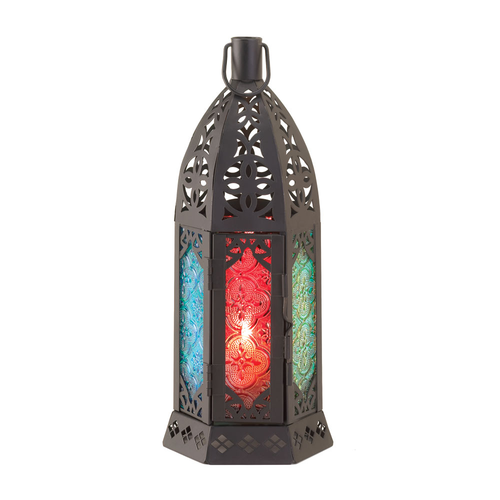 Wholesale Rosette Prism Candle Lantern for sale at bulk cheap prices!