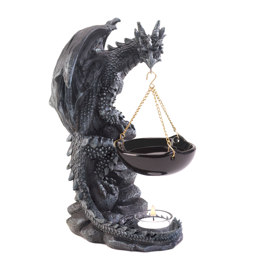Shadowy Dragon Oil Warmer