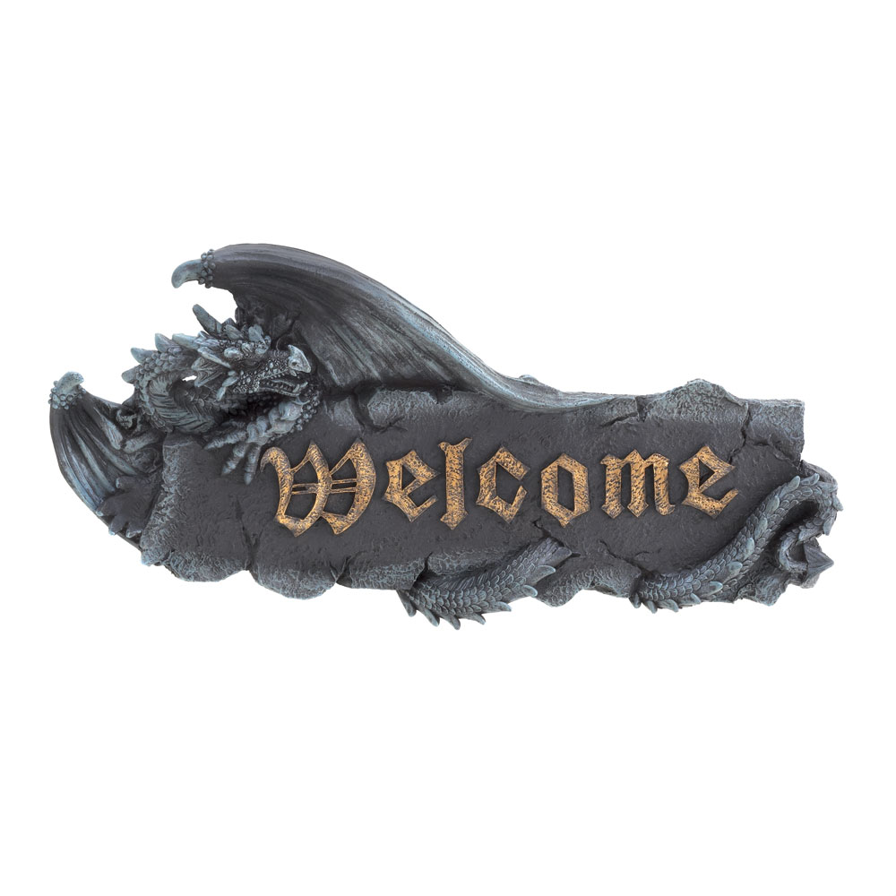 Wholesale Dragon Welcome Plaque for sale at bulk cheap prices!