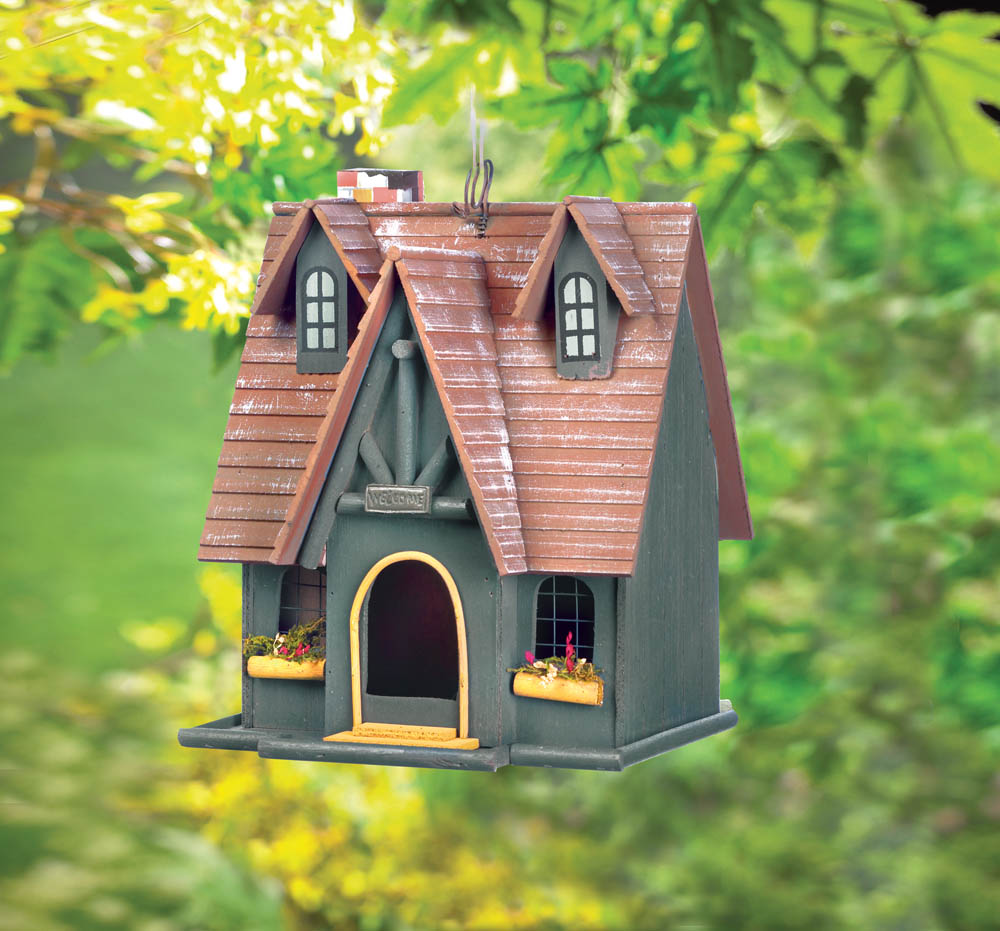 Wholesale Thatch Roof Chimney Birdhouse For Sale At Bulk Cheap Prices!