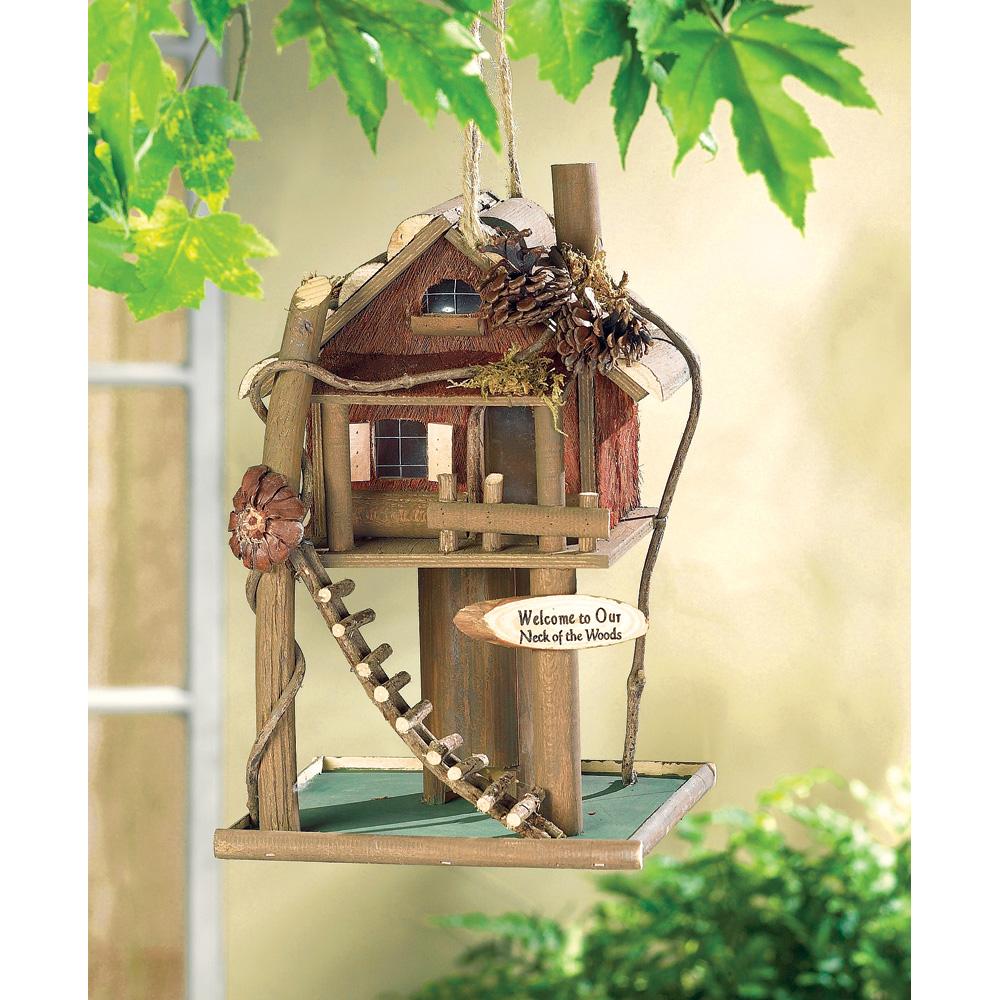Wholesale Log Cabin Birdhouse for sale at bulk cheap prices!