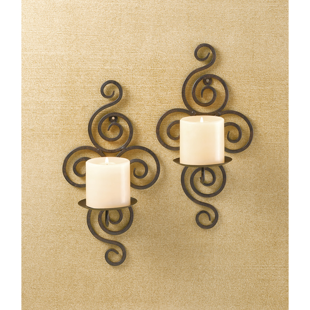 Metal Wall Sconce Candle Holder wholesale sconces now available at wholesale central - items 1 - 40