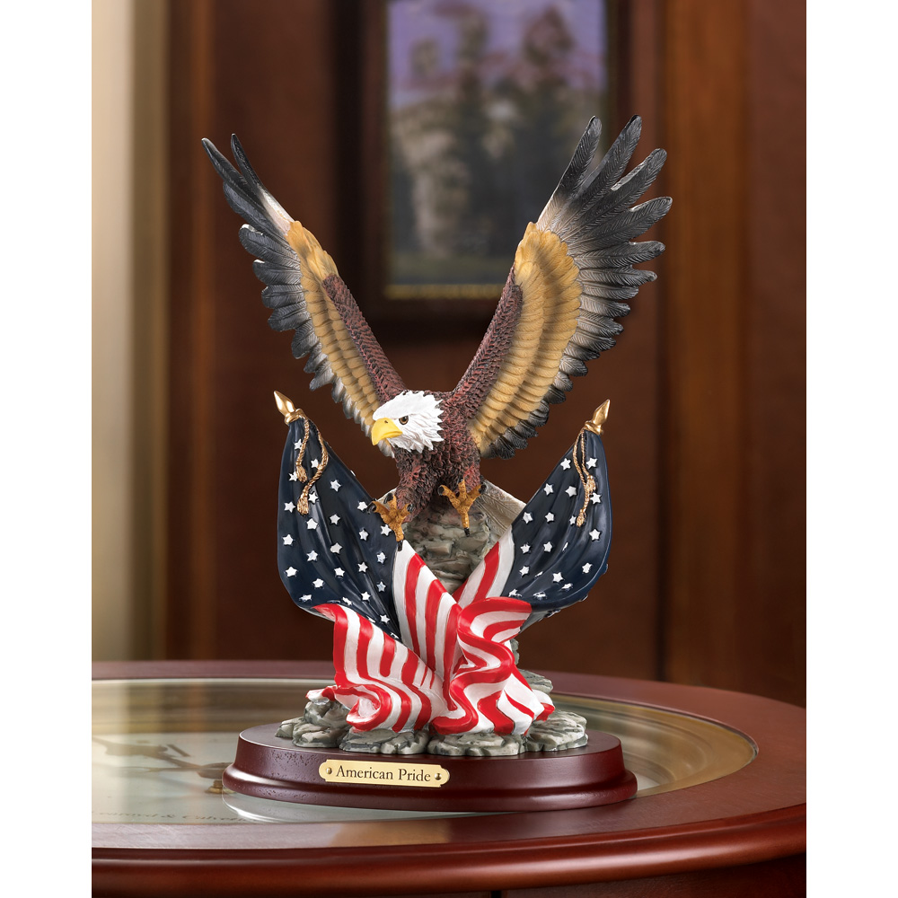Wholesale Eagle Sculpture on Wood Base - Buy Wholesale Sculptures