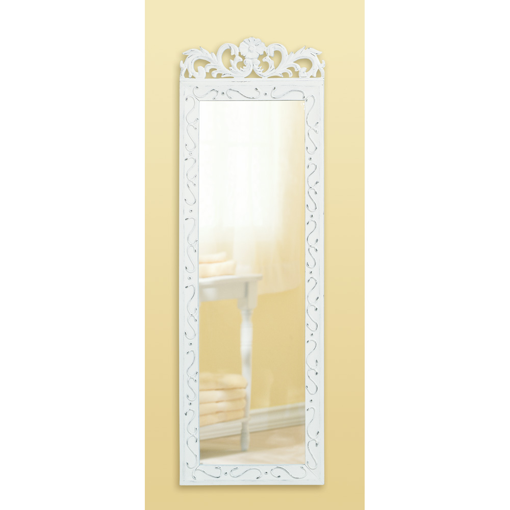 Wholesale distressed white wood mirror buy wholesale mirrors for Cheap mirrors