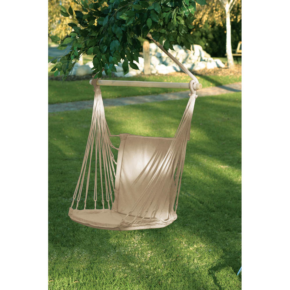 Cotton Paded Swing Chair