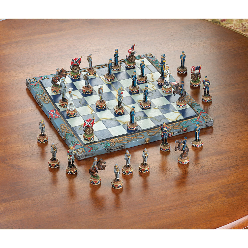 Wholesale Civil War Chess Set for sale at bulk cheap prices!