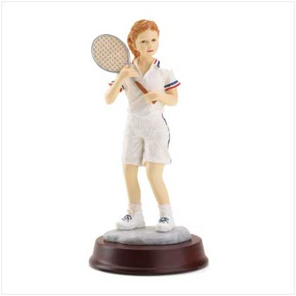 Wholesale Tennis Girl Figurine for sale at  bulk cheap prices!