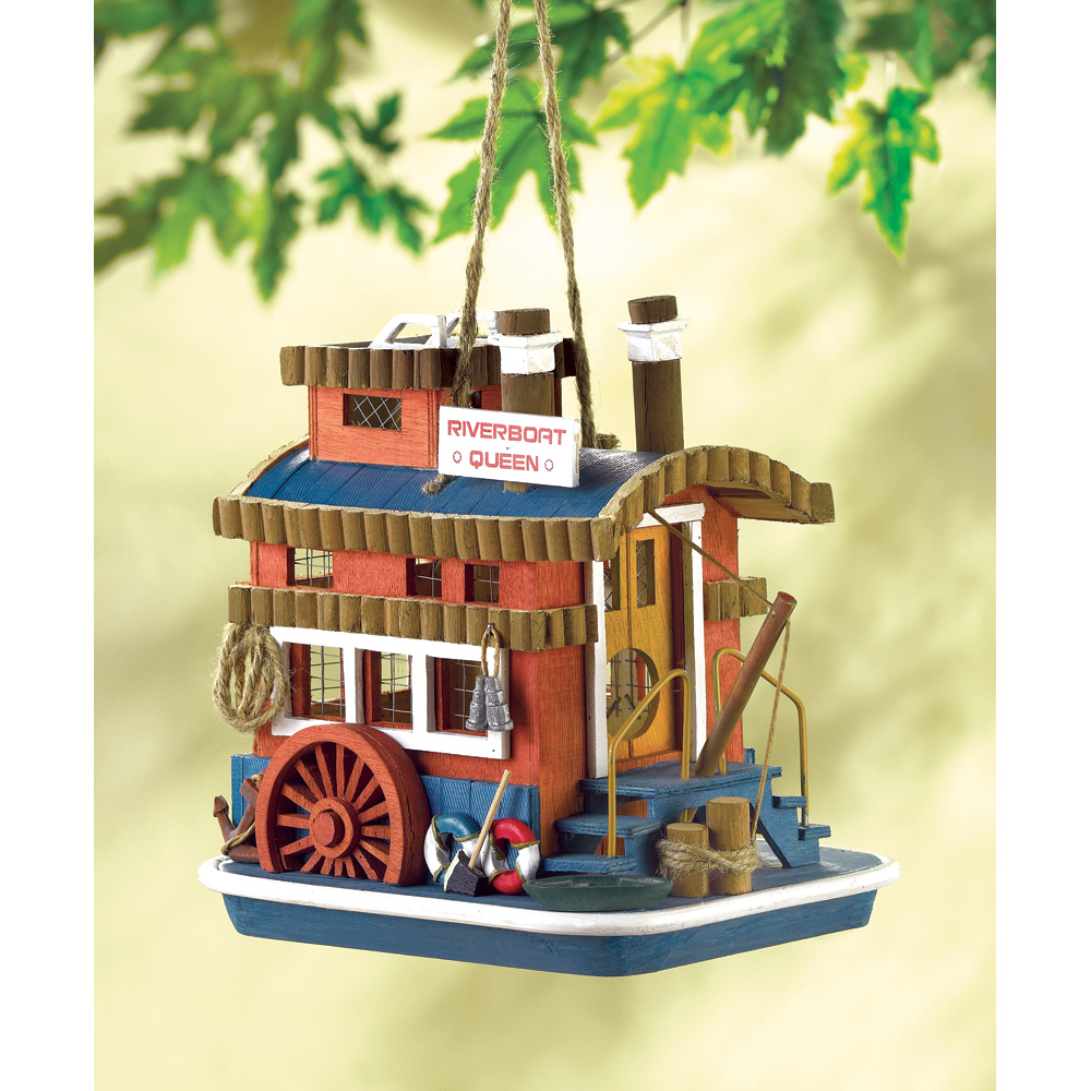Wholesale Queen Boat Birdhouse for sale at bulk cheap prices!