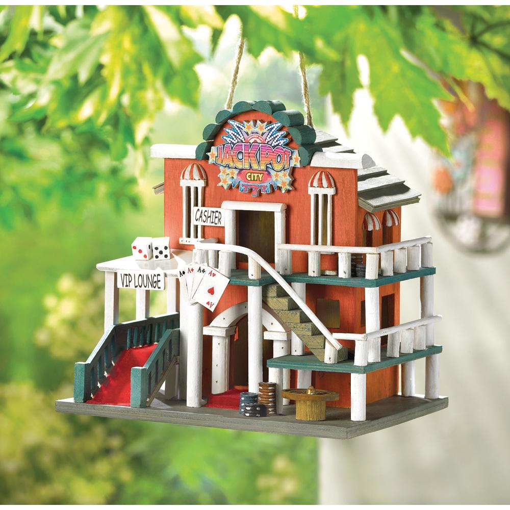Wholesale Jackpot City Birdhouse for sale at bulk cheap prices!