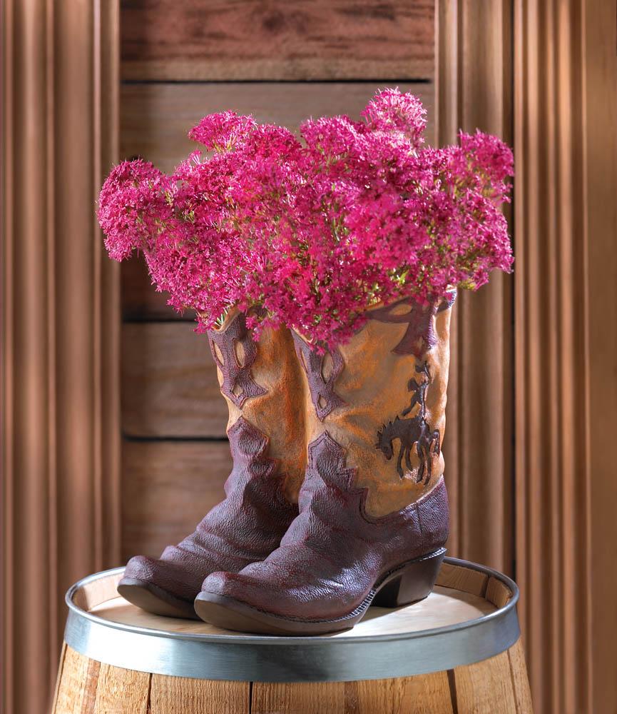 Wholesale Cowboy Boot Planter Buy Wholesale Garden Planters