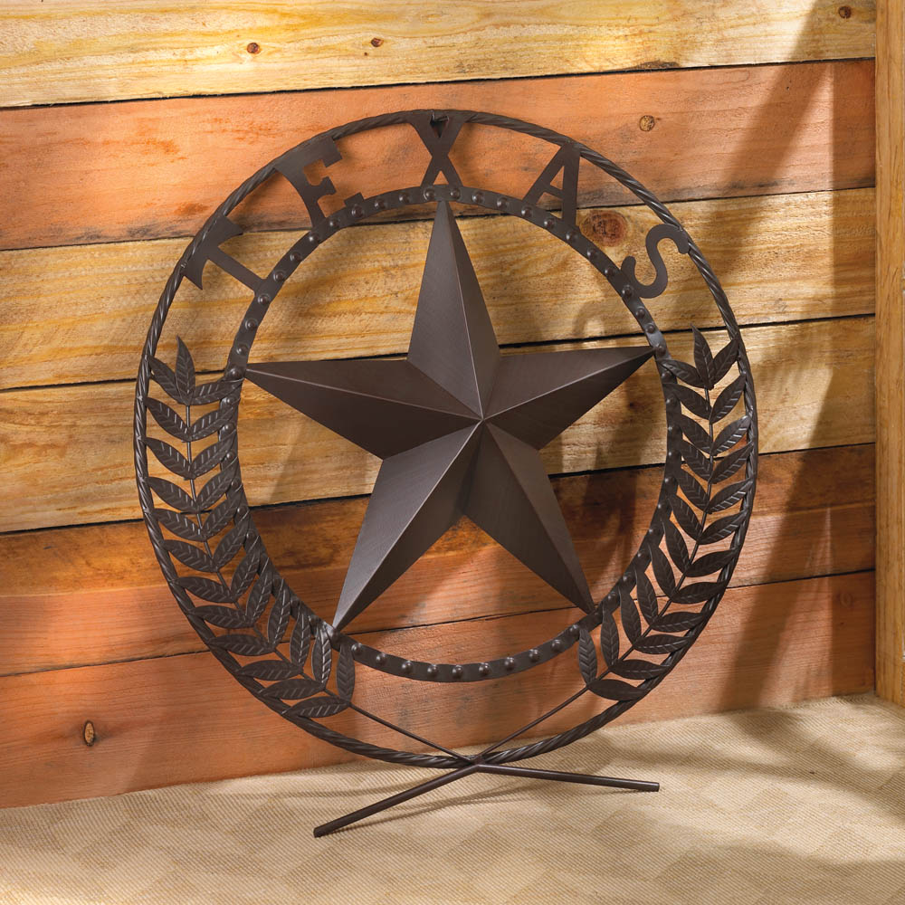 Wholesale Texas Star Wall Plaque