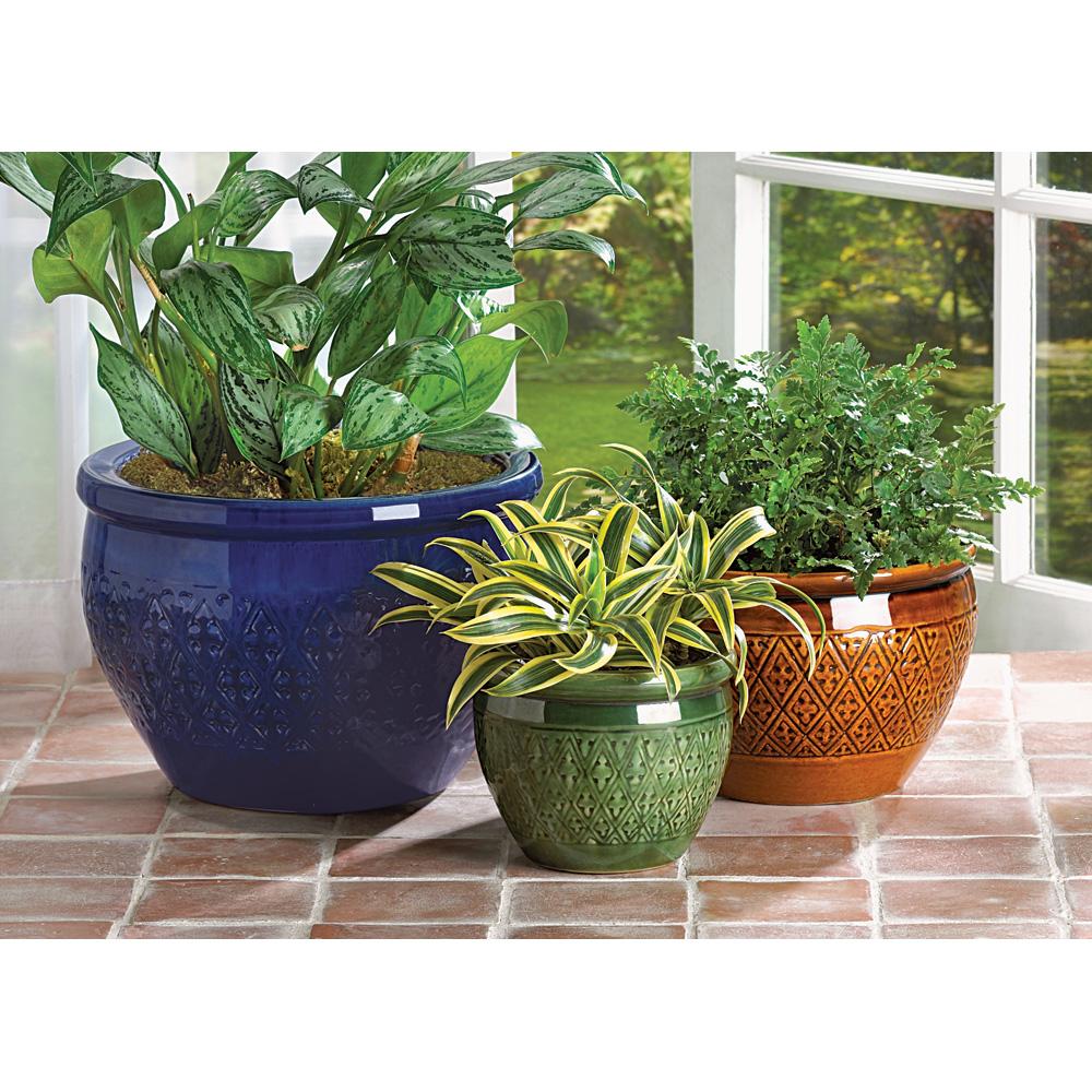 Wholesale Jewel Tone Flower Pot Trio Buy Wholesale Hats
