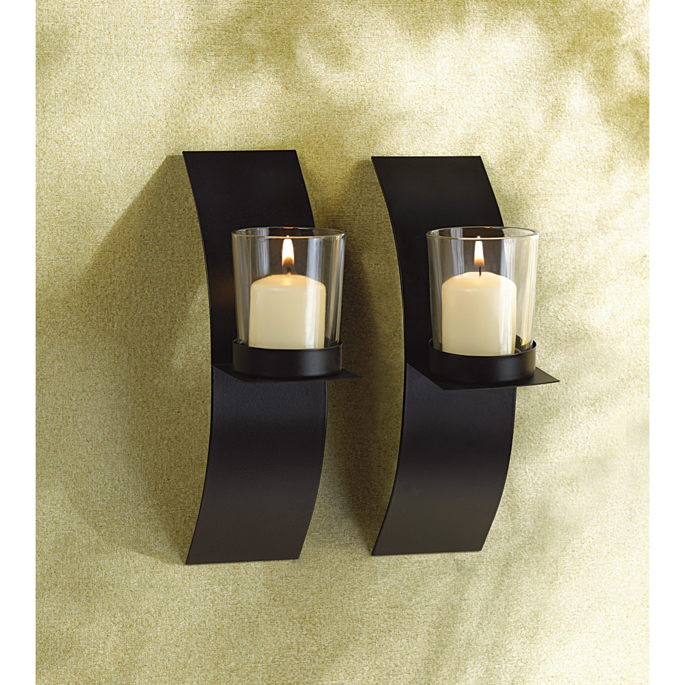 wholesale mod art candle sconce duo buy wholesale candle
