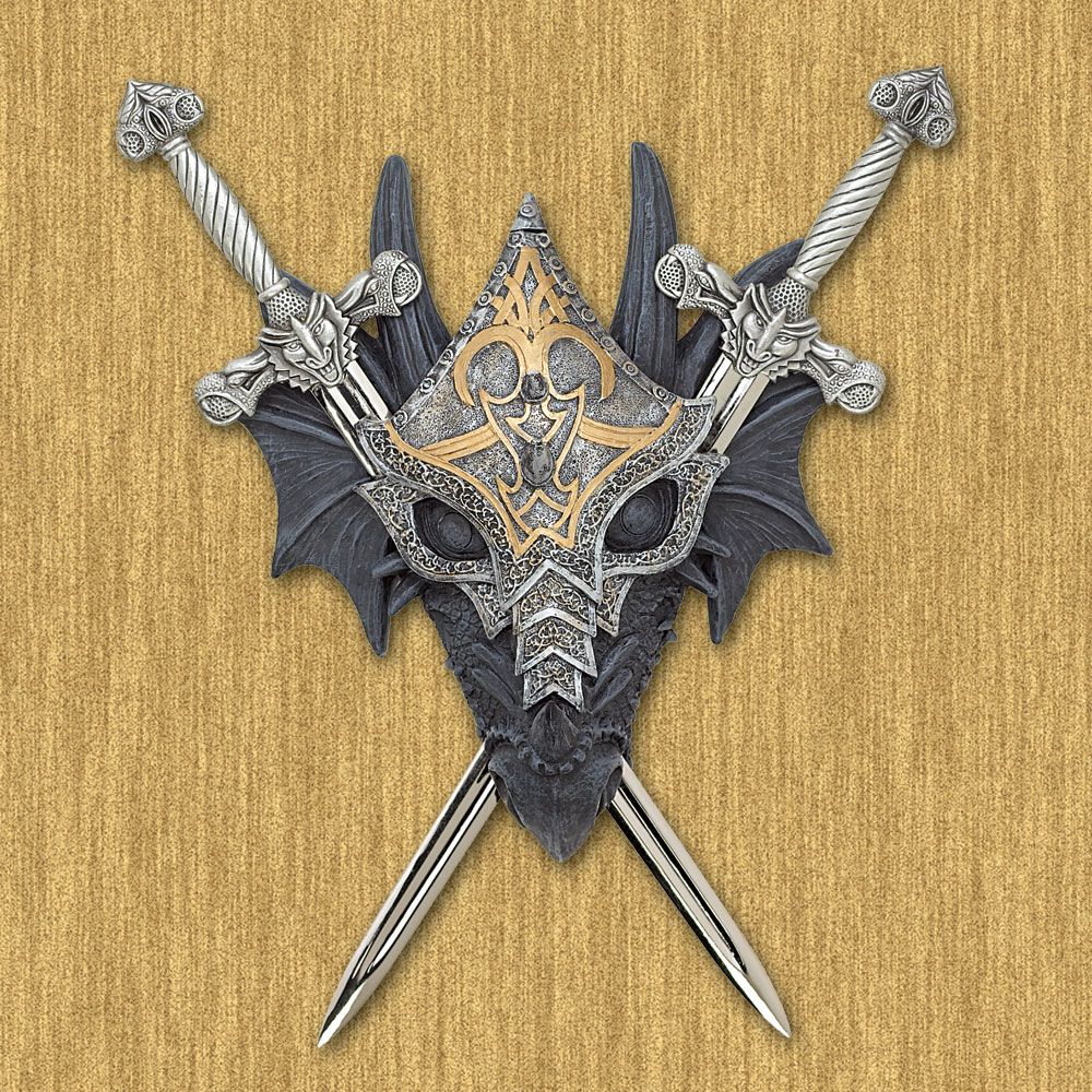 Wholesale Armored Dragon Wall Crest