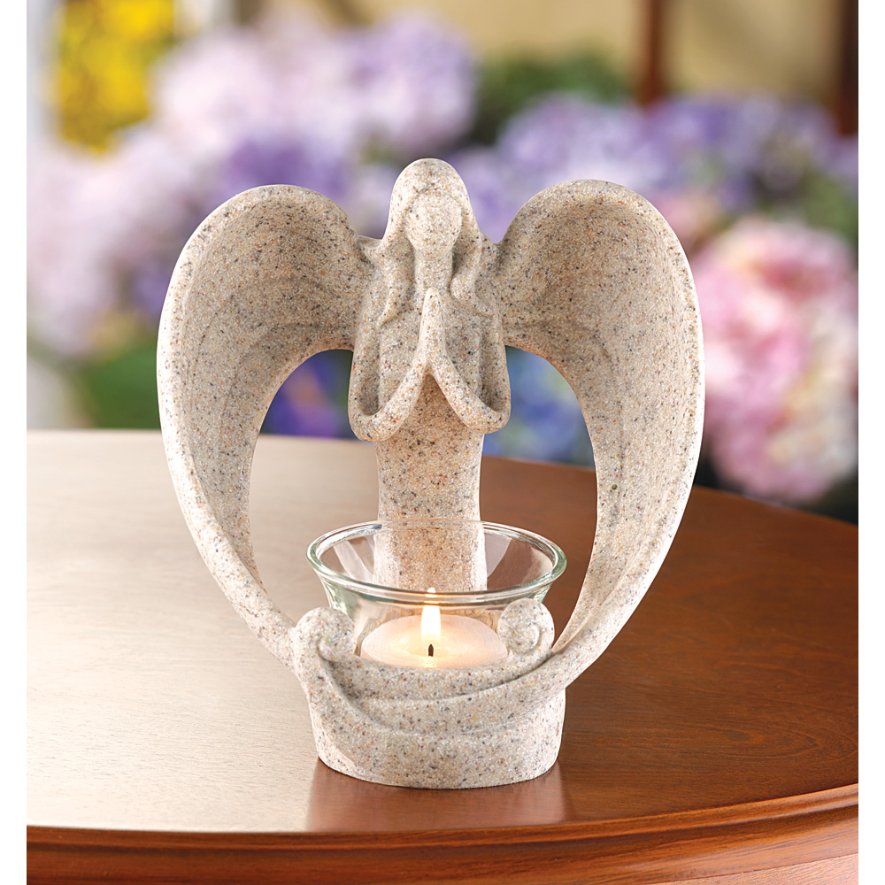 Wholesale desert angel candle holder for sale at bulk cheap prices
