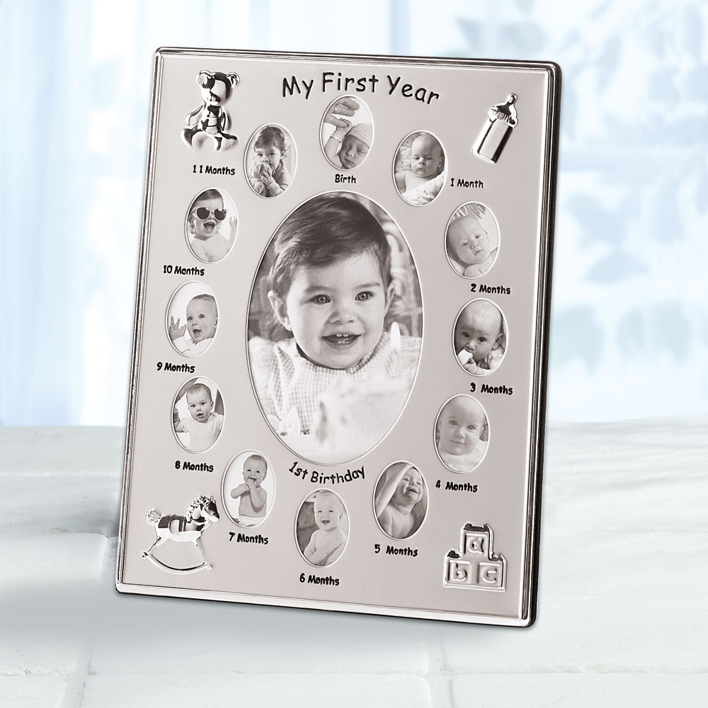 Wholesale My First Year Photo Frame - Buy Wholesale Picture Frames