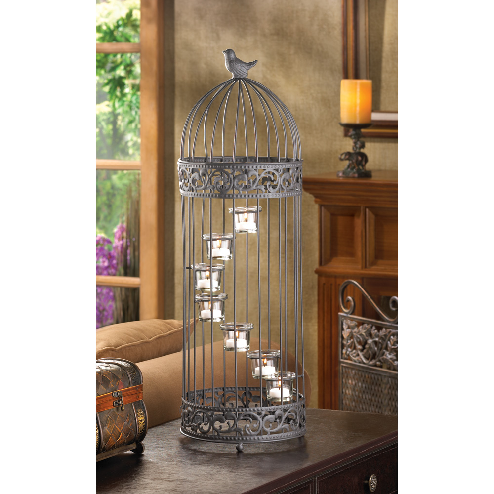 Wholesale Birdcage Staircase Candle Stand