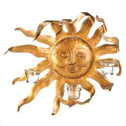 Wholesale Smiling Sun Candle Sconce for sale at bulk cheap prices!