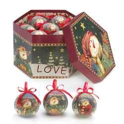 Wholesale Winter Snowman Ornament Set for sale at  bulk cheap prices!