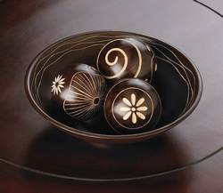 Umber Decorative Ball Set