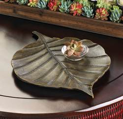 Wholesale Avery Leaf Decorative Tray for sale at bulk cheap prices!