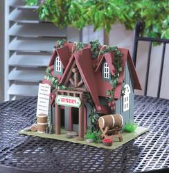 Wholesale Cottage Winery Birdhouse for sale at bulk cheap prices!