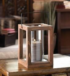 Rustic Wooden Lantern