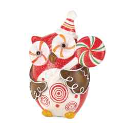 Wholesale Sugary Sweet Holiday Owl Decor for sale at  bulk cheap prices!
