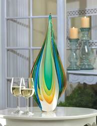 Wholesale Cool Flame Art Glass Statue for sale at bulk cheap prices!