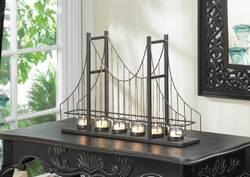 Golden Gate Candleholder