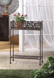 Cast Iron Two-Tier Plant Stand