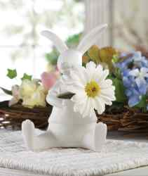 Wholesale White Rabbit Vase for sale at  bulk cheap prices!