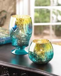Peacock Inspired Candleholder