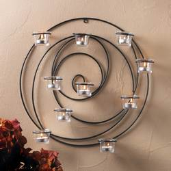 Wholesale Hypnotic Candle Wall Sconce for sale at bulk cheap prices!