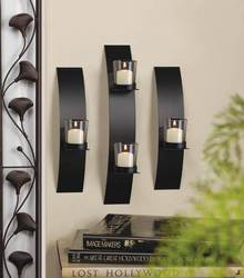 Wholesale Contemporary Wall Sconce Trio for sale at bulk cheap prices!